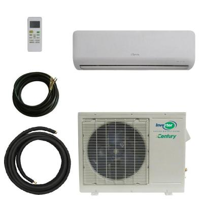 VMH Series 23,000 BTU Cool/24,000 BTU Heat Ductless Mini Split Air Conditioner with Heat Pump System Kit - 208V/60Hz